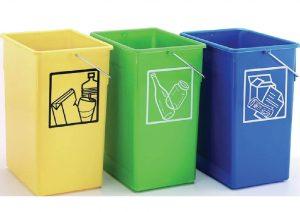 cubo de reciclaje 15 y 26 l